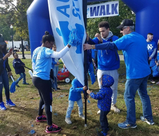 Autism Speaks walk